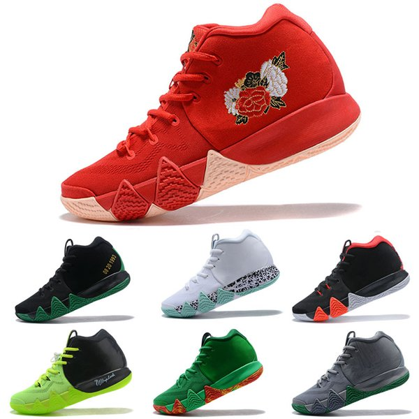 outlet store 08373 84f53 Original Kyrie IV Basketball Shoes Red Carpet Wheaties 4 Fall Foliage BHM  EQUALITY City Guardians CNY All Star Mamba Mentality Shoes Shoes Sale ...