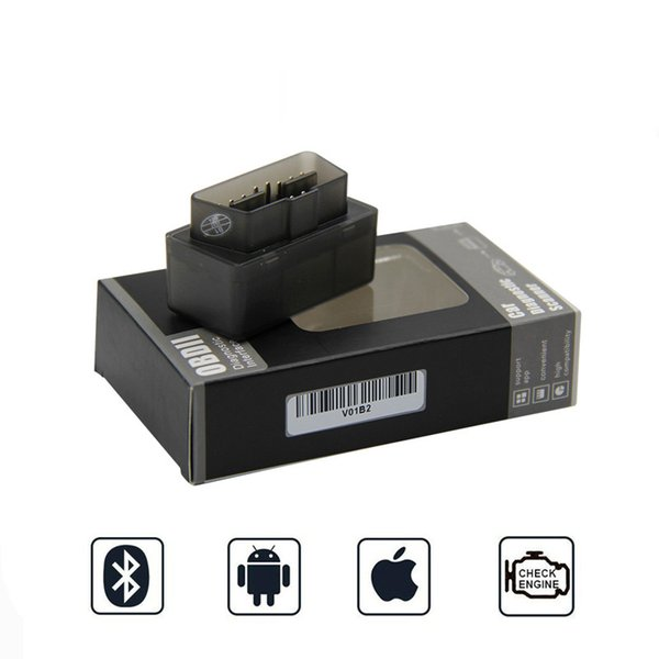 Mini Elm327 Bluetooth V1.5 OBD2 Elm 327 V 1.5 OBD 2 Code Auto Scanner OBDII Elm327 Adaptateur outil de diagnostic