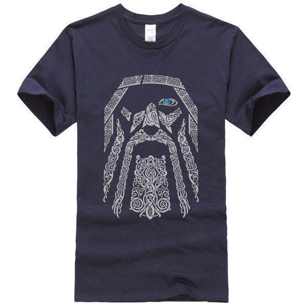 The Vikings Cool Hip Hop Streetwear Punk Men's T-shirts 2019 Spring Summer New Tops Tee Shirts Harajuku Tshirt Men K-pop T Shirt