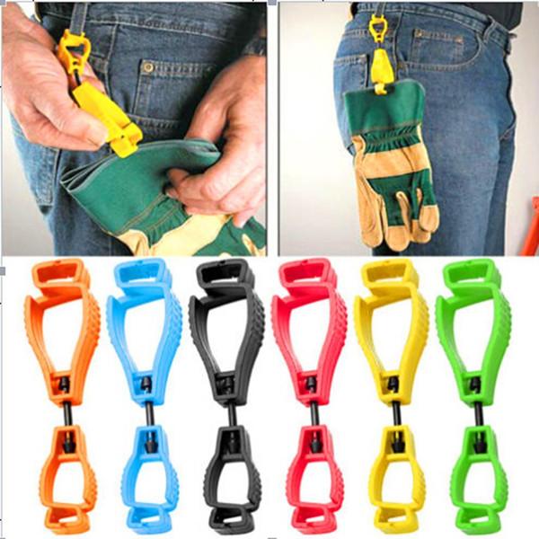 Gant de mode Clip Hanger Garde en plastique Garde de sécurité au travail Grabber Pince Gant Keeper Nouveau Mode Gant En Plastique Clip Titulaire