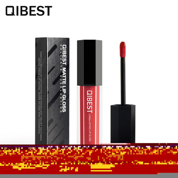 Nutritious Lasting Lip Gloss Matte Liquid Sexy Color 4g Lip Makeup Brand #F18013#