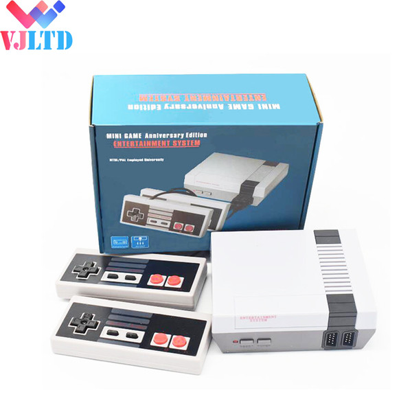 top popular New Arrival Mini TV can store 620 500 Game Console Video Handheld for NES with retail boxs 2019