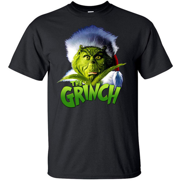 How The Grinch Stole Christmas Movie Poster.How The Grinch Stole Christmas V4 Movie Poster T Shirt Black All Sizes S 5xl Funny 100 Cotton T Shirt Jacket Croatia Leather Tshirt It T Shirts