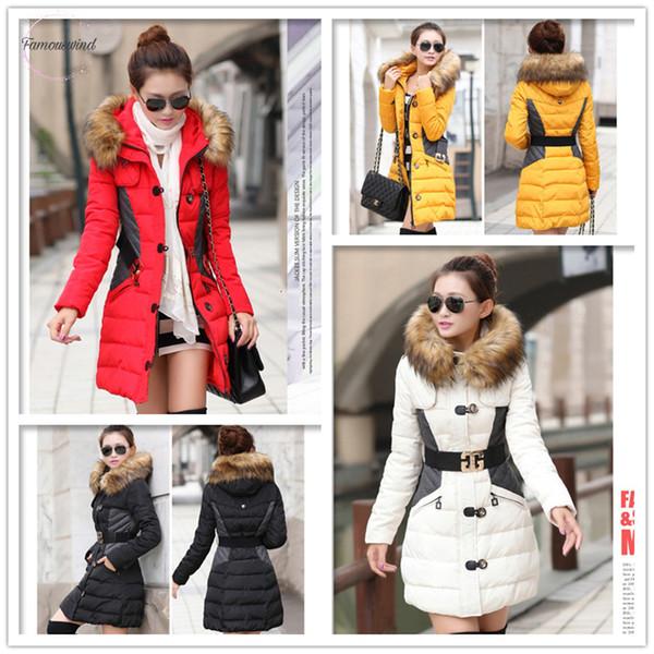 and winter jacket women coat parka woman winter coats brand jackets, fur collar hood clothing big anorak jacket l02