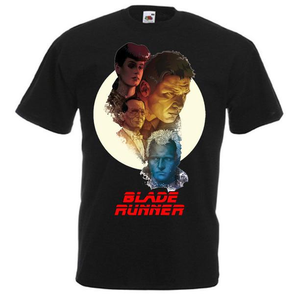 Affiche de film BLADE RUNNER Black White. T-shirt camiseta de vêtements en denim Harrison Ford toutes tailles naturelles