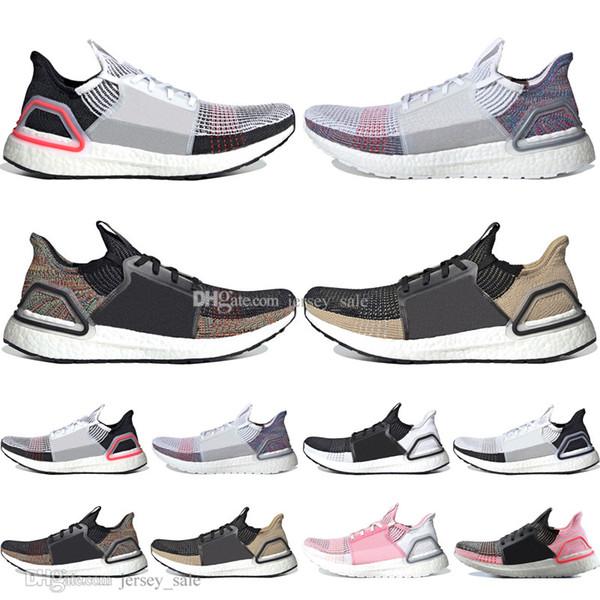 Sıcak 2019 Ultra Boost 19 Lazer Kırmızı Kırılma Oreo erkek koşu ayakkabıları erkekler Kadınlar için UltraBoost 5.0 Koyu Piksel Spor Sneakers Tasarımcı Boyutu 5-11