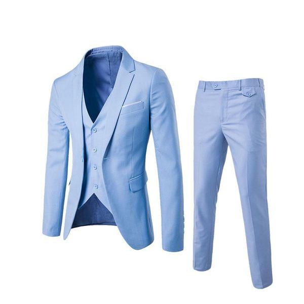 3 adet / takım Balıksırtı Retro Beyefendi Tarzı Custom Made erkek Takım Elbise Terzi Takım Elbise Blazer Erkekler için Düğün Suits (Ceket + Pantolon + Yelek)