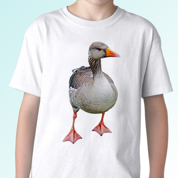 Goose white t shirt animal tee top bird design - mens womens kids baby sizes Funny free shipping Unisex Casual tshirt
