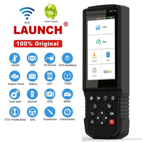 Запуск X431 OBD2 автомобиля диагностический сканер инструмент Специальная функция WiFi ж / Andriod OS