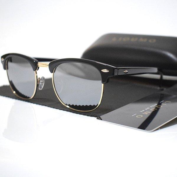 Lenses Color:A-black-silver