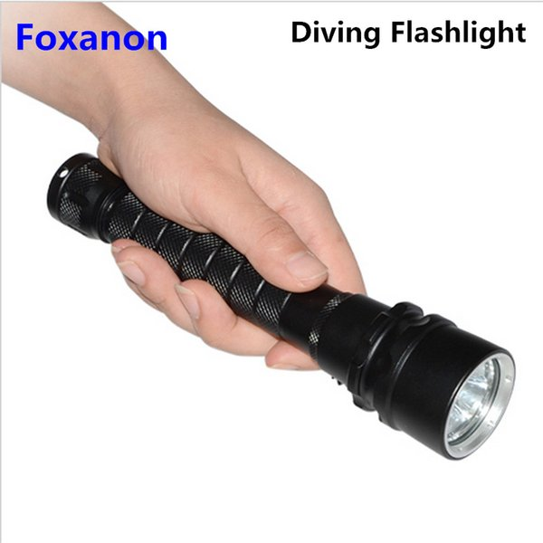 4800lm 3 Leds Tauchen Taschenlampe Ip68 Wasserdichte Cree Xm -L L2 U3 Tauchen Taschenlampen Taschenlampe Für Unterwassertaucher Beleuchtung