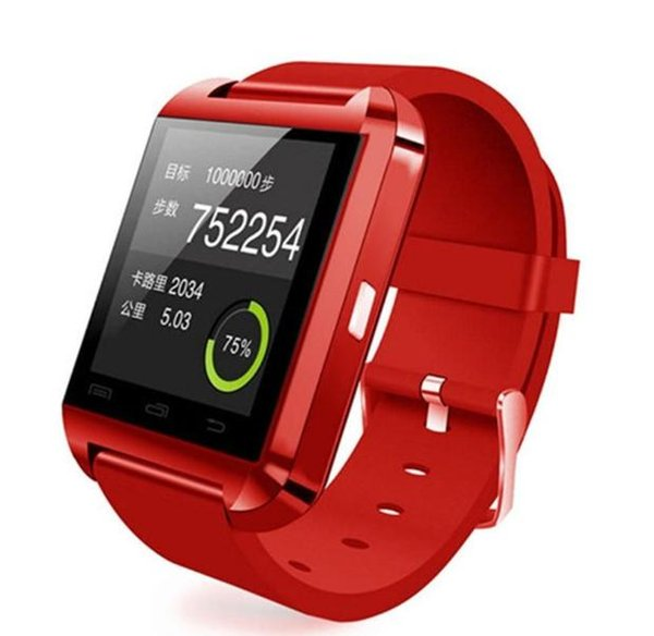 Bluetooth Smart Watch WristWatch U8 Smartwatch Sports Wrist Watches for Samsung huawei xiaomi lenovo meizu lg Android Phone