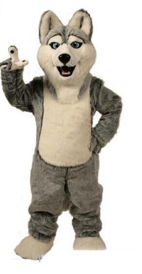 2019 factory hot Wolf mascot costumes halloween dog mascot character holiday Head fancy party costume adult size birthday