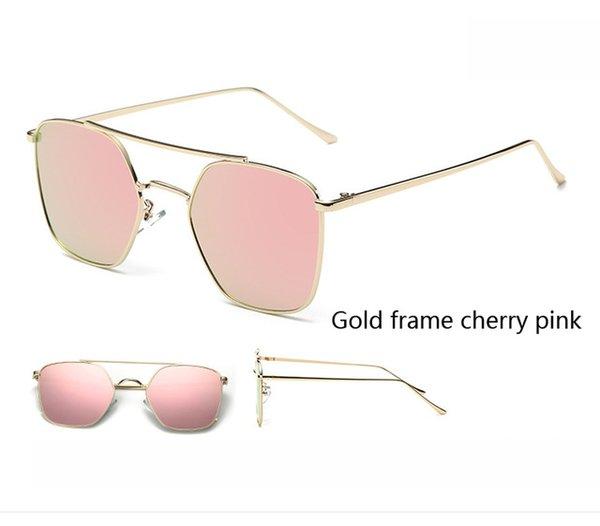Colore lenti: cornice oro ciliegia