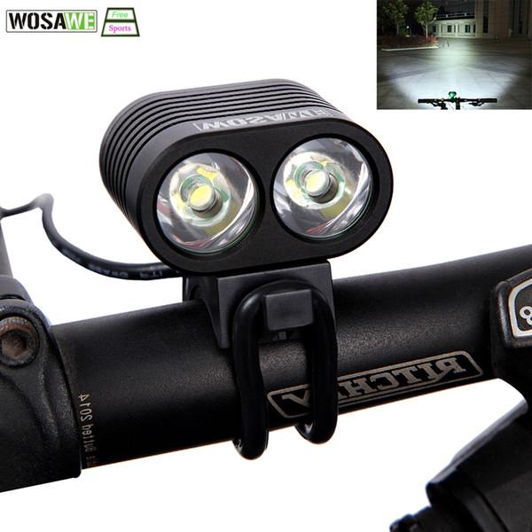 WOSAWE 2400 Lumen USB Rechargeable Bike Light Lamp CREE XML T6 LED Cycling Bicycle HeadLight Headlamp Flashlight Waterproof #324114