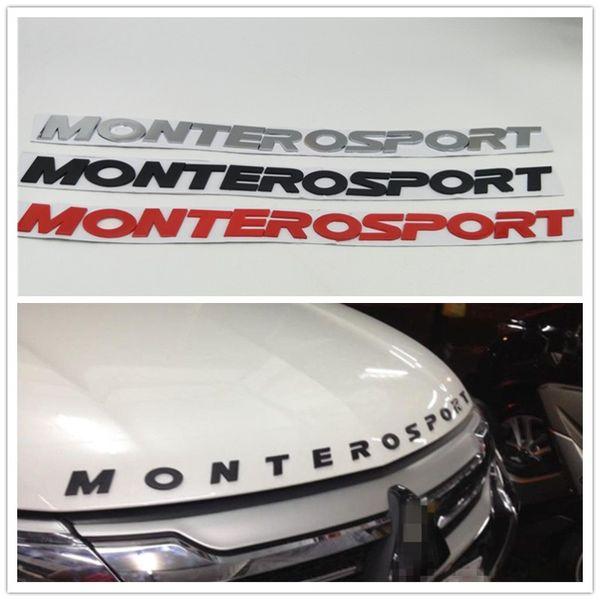 Front Hood Boonet Logo Emblem Badge For Mitsubishi Pajero Montero Sport Monterosport Suv