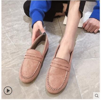 2019 spring and autumn new flat bottom non-slip casual non-slip work shoes pregnant women mother child free shipping