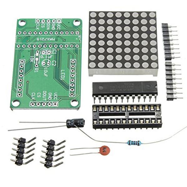 Max7219 Dot Matrix Module Anzeigemodul Diy Kit Mcu