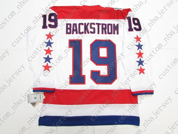 huge discount 512f1 a77af Cheap Custom Nicklas Backstrom WASHINGTON CAPITALS 2011 WINTER CLASSIC  HOCKEY JERSEY Stitch Add Any Number Any Name Hockey Jersey XS 5XL UK 2019  From ...