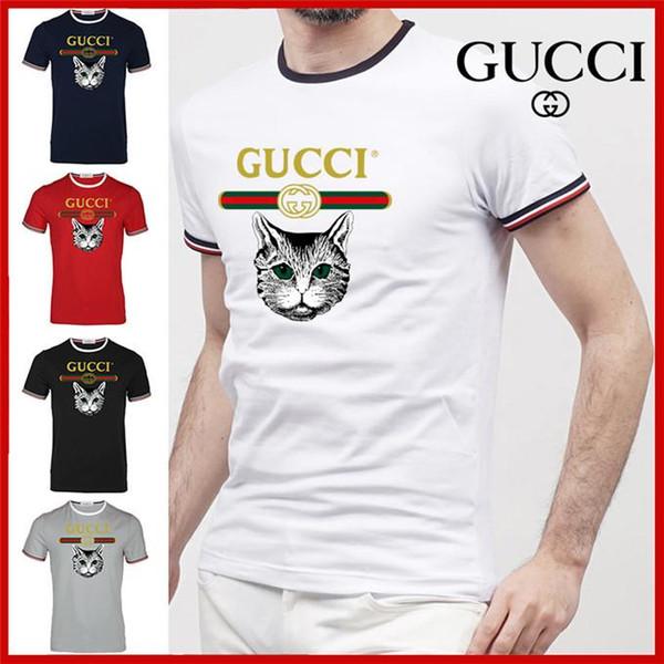 T-shirt sportiva da boxe T-shirt nuova da uomo in cotone O-collo superiore T-shirt da uomo di marca T-shirt di lusso personalizzata G8GUCCI