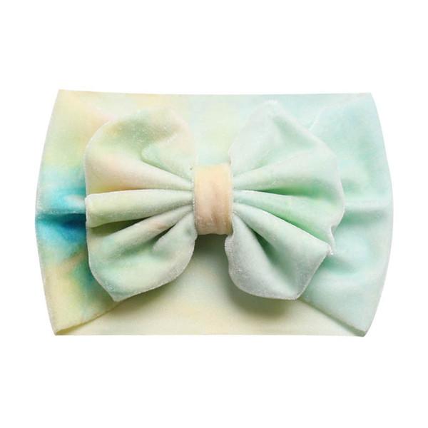 nuevas diademas de terciopelo para bebé lazos para el cabello diadema de diseñador recién nacida diademas de diseñador para niñas accesorios para el cabello de niñas lindas diademas para niños A7467