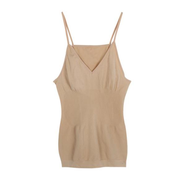 Sexy Women Tank Top Seamless Tummy Waist Control Vest Cami Body Shaper Shapewear
