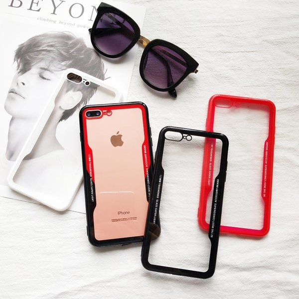 Soft Trsnaparent Cases for IPhone XR XS MAX 8 7 6 7Plus 6S I Phone 8plus Cradle Design Phone Shell Case Clear Back Cover Factory 1000pcs