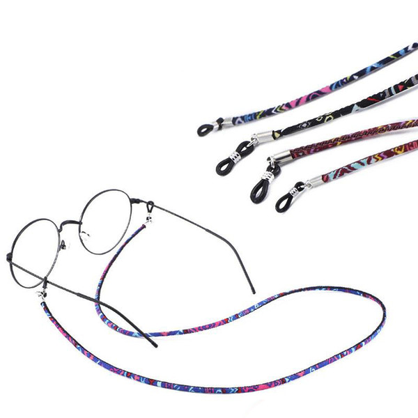 Mezclado Colorido Deporte Gafas Gafas Gafas de sol Cadena Cuerda Correa de Cuello Cordón Titular Ajustable Accesorios de Moda