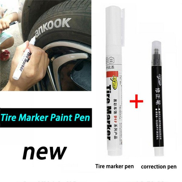 Kuulee Of White Color Permanent Tire Marker Pen For Car Tire And Moto Car Detailing Materials Car Detailing Prices From Miaotang 48 71 Dhgate Com