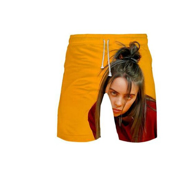 Grosshandel Billie Eilish 3d Druck Idol Beach Fashion Shorts Grundlegende Coole Street Summer Shorts Casual Shorts Moletom Mann Hose Hipster Von Guoshan1018 11 47 Auf De Dhgate Com Dhgate