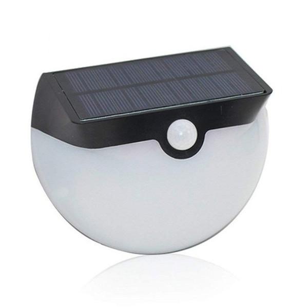 Segurança Solar Motion Semi-Círculo Luzes Sensor de Movimento Do Jardim Da Lâmpada de Parede 29 LEDs para Cerca Ao Ar Livre Passo À Prova de Intempéries