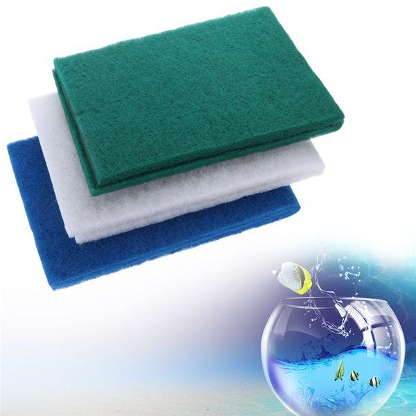 top popular 3PCS  Lot Aquarium Biochemical Filter Cotton Bio-Sponge Filter Media Foam pads Fish Tank Biochemical Sponge bio Cotton 2021