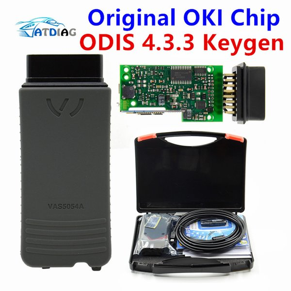 2018 wifi VAS 6154 4.33 ODIS V4.33 VAS5054A V4.33 OKI completa Chip VAS6154 WIFI Bluetooth per Audi SKOD-a VAS5054 A sostegno UDS