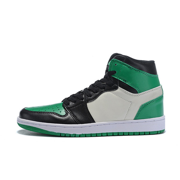 2019 Boîte d'origine Hommes 1s Chaussures De Basketball 1 Off Toe Top3 Interdit Hommes OG Mode luxe Hommes Femmes Designer Sandales Chaussures 1s