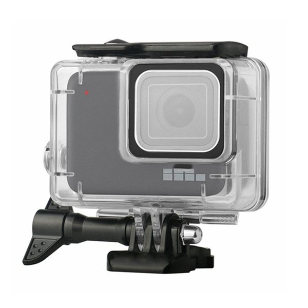 Best quality Diving Waterproof Case Housing For Gopro Hero 7 Silver & Hero 7 White Underwater Protection Shell Box Go pro Accessories by DHL