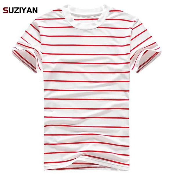 2019 New Fashion Casual Floral Male Milk Silk T-shirt Striped Long Sleeved T Shirt O Neck Tee Shirt Print T Men Undershirt