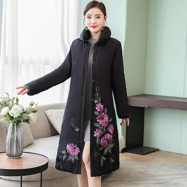 YICIYA coat women winter clothes 2019 jacket long plus size oversize warm thick black parka coats elegant Female coat outerwear
