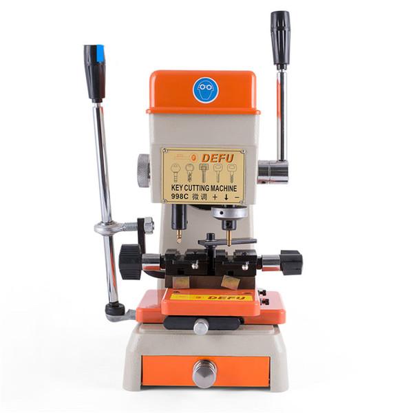 DEFU 998C Máquina duplicadora de llaves 220V 110V Vertical bloqueo máquina cortadora de llaves Clave del equipo para la fabricación de herramientas de cerrajero claves