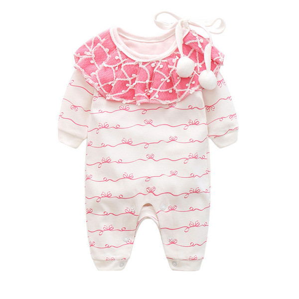 good quality baby girls spring autumn rompers newborn baby cotton jumpsuits rompers infant girls causal long sleeve homewear clothes