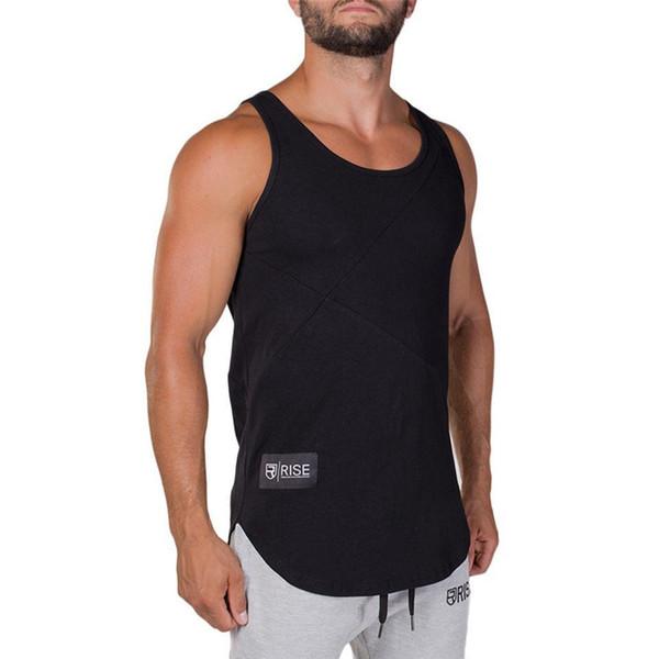 2019 Summer New Men Bodybuilding Cotton Tank Top Vest Male Gyms Fitness Workout vest Man Jogger Crossfit Tee Clothing
