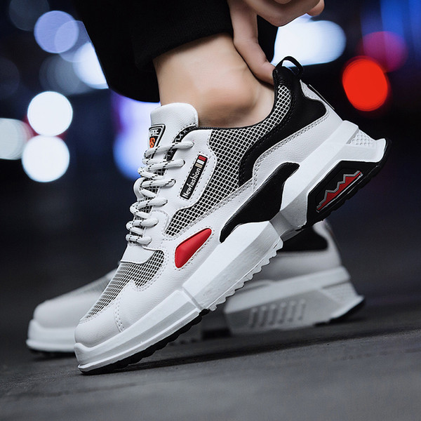 Hot Sale Men Sneakers Breathable Running Shoes For Men Comfortable Outdoor Sport Shoes Jogging Athletic Male Travel