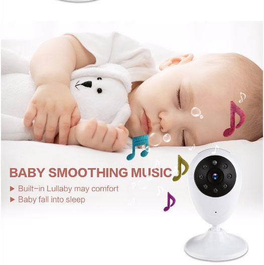 Baby-WiFi-IP-Kamera 7,0-Zoll-2,4-GHz-Wireless-TFT-LCD-Dual-View-Video-Baby-Monitor mit Infrarot-Nachtsicht