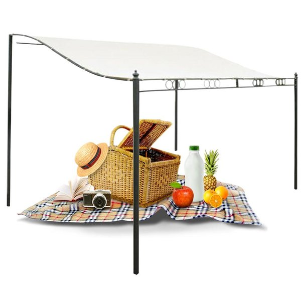 Camping Outdoor Gazebo Tent Patio Picnic Beach Water Resistant Sun Shelter Easy Install Roof Top Canopy Awning Garden