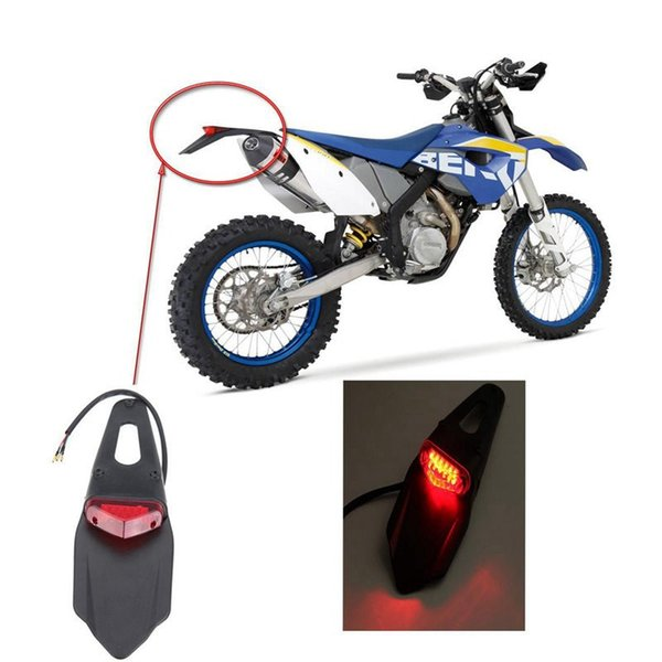 top popular Motorcycle LED Tail Light&Rear Fender Stop Enduro taillight MX Trail Supermoto FOR KTM CR EXC WRF 250 400 426 450 2021