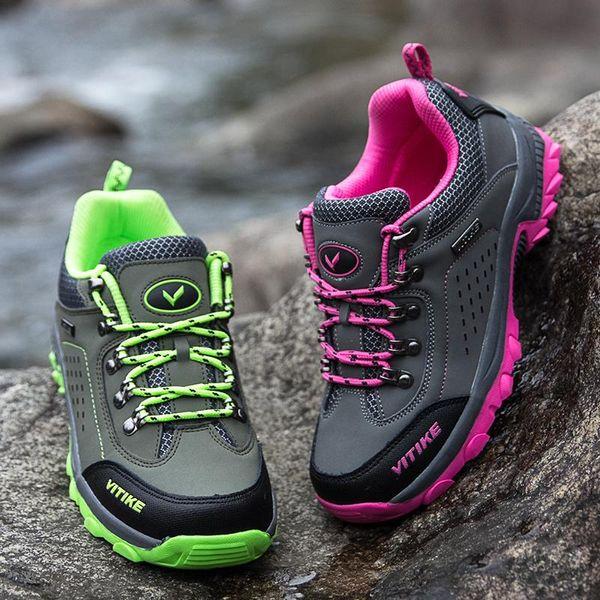 2018 New Professional Hiking Shoes For Kids Boys Girls Outdoor Sport Sneaker For Children Walking Wear Resistant Anti Slip