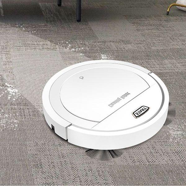 Robot Süpürge 1800PA Poweful Emiş 3 1 Pet Saç Ev Kuru Islak Mop Temizlik Robotu Otomatik Şarj Vakum Mini
