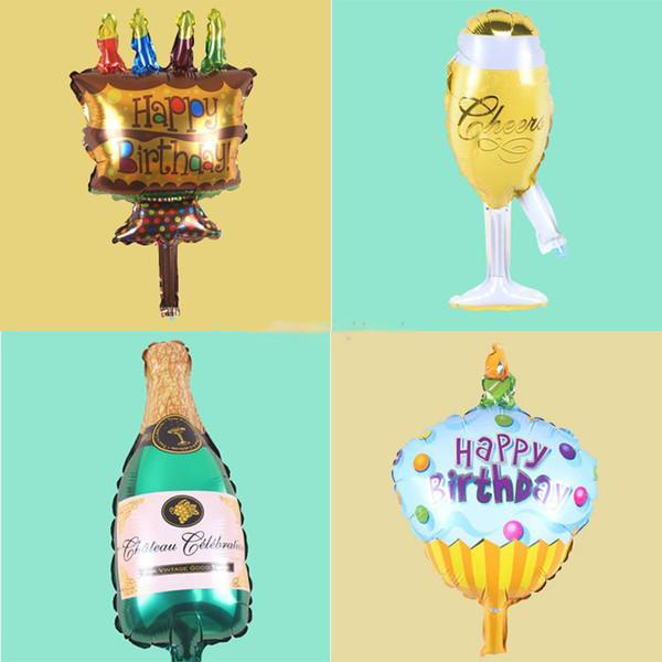 8 Estilo Folha de Alumínio Balão Atacado Hélio Ballons para Festa de Casamento Aniversário Festa de Aniversário Decoração