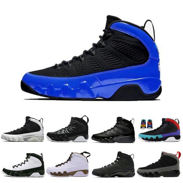 moda Dream It Do It 9 9s Zapatillas de baloncesto para hombre Antracita The Spirit Bred jam Zapatillas deportivas UNC Athletics 7-13