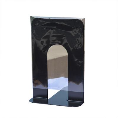 top popular Durable Heavy Duty Metal Book End Shelf Bookend Holder Office School Supplies Stationery Student Good Helper Hot Sell 2021