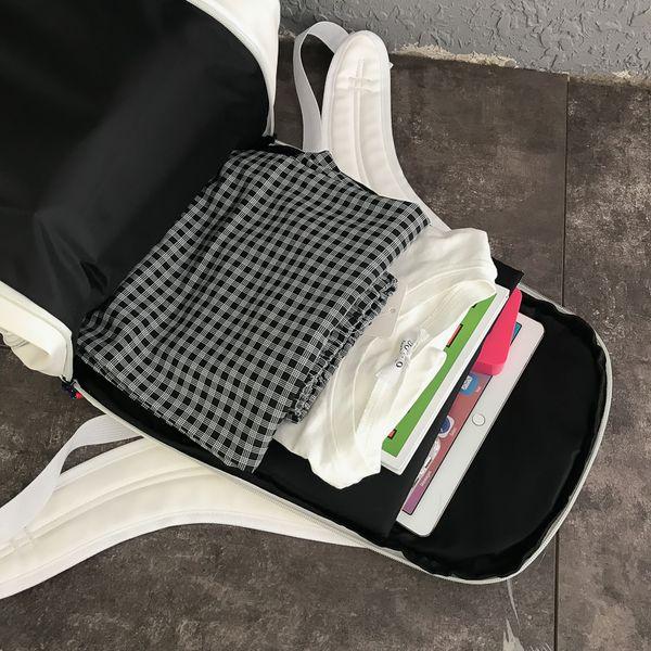 Designer-Backpack Designer Backpack moda Personalidade Shoulder bag Mochilas recreativas para estudantes das mulheres dos homens saco Pu Bolsas mais vendidos